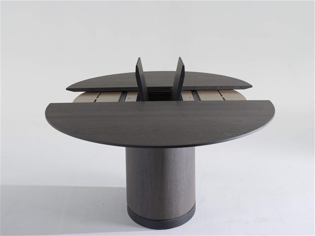 Table spazio tables de r union design terre design - Table design pied central ...