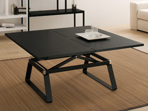 Table regolo tables de repas design terre design - Table salon convertible ...