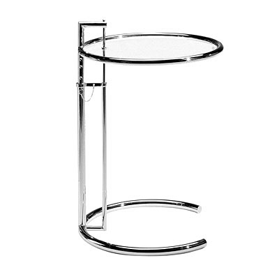 Table e 1027 tables d 39 appoint design terre design - Table basse ajustable en hauteur ...