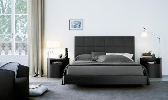 lit plaza lits design terre design. Black Bedroom Furniture Sets. Home Design Ideas
