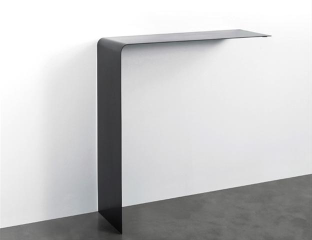 Console wing shelf consoles design terre design for Console murale design