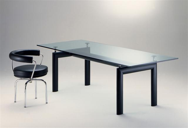 table lc6 tables de r union design terre design. Black Bedroom Furniture Sets. Home Design Ideas